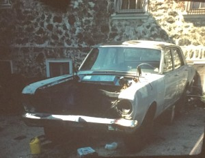Ford Falcon from Auto Mechanics Class Image Courtesy of John Lynn