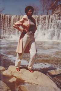 Girl in Front of Glen Mills Dam Image Courtesy of John Lynn